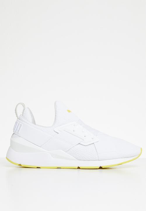 792428a8901 Muse Tz Wn s - 36965801 - Puma white-blazing yellow PUMA Sneakers ...