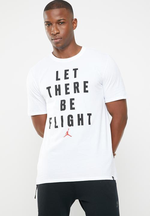 c0687511d1f8 Jordan flight tee - white Nike T-Shirts