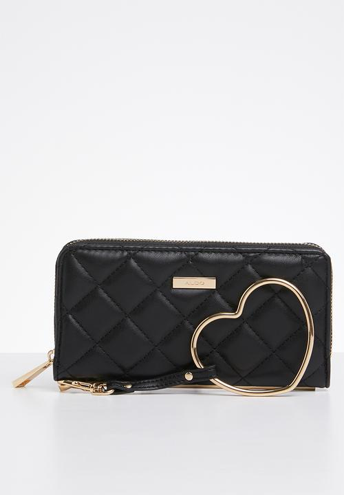 9908c7ff5802 Setzu faux leather multi-compartment wallet - black ALDO Bags ...