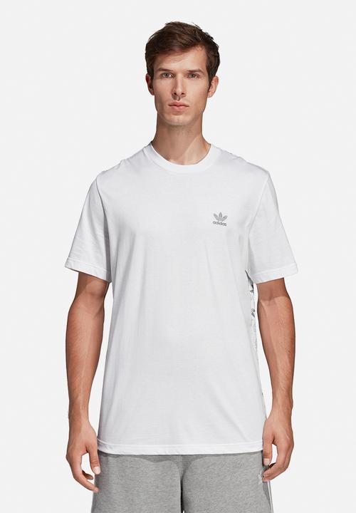 Tee Short Crew White Sleeve Monogram If7vbYy6g