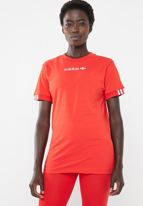8afe867bb38 Coeeze T-shirt - red adidas Originals T-Shirts | Superbalist.com