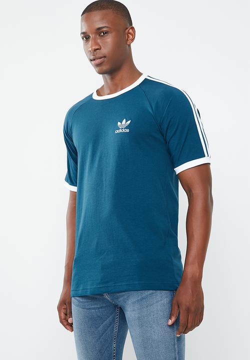fd6cc9ba3c8 adidas 3-Stripes short sleeves tee - legend marine white adidas ...