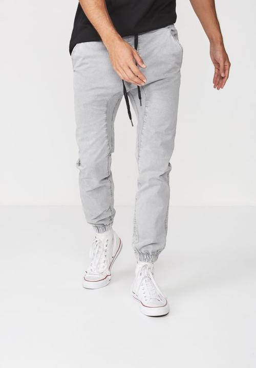 40d3aa2147f8 Drake cuffed pant - grey Cotton On Pants & Chinos | Superbalist.com