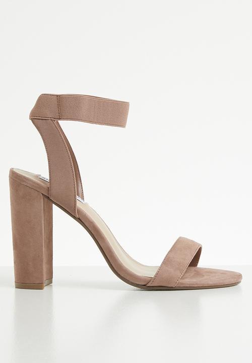 e86764ffd72b Celebrate ankle strap block heel sandal - neutral Steve Madden Heels ...