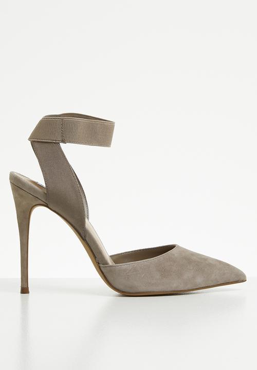 1a2de9ff235 Ankle strap stiletto heel - neutral