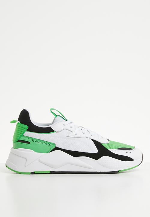 best website c4a57 6e7e0 PUMA - RS-X Reinvention - Puma white-Irish green