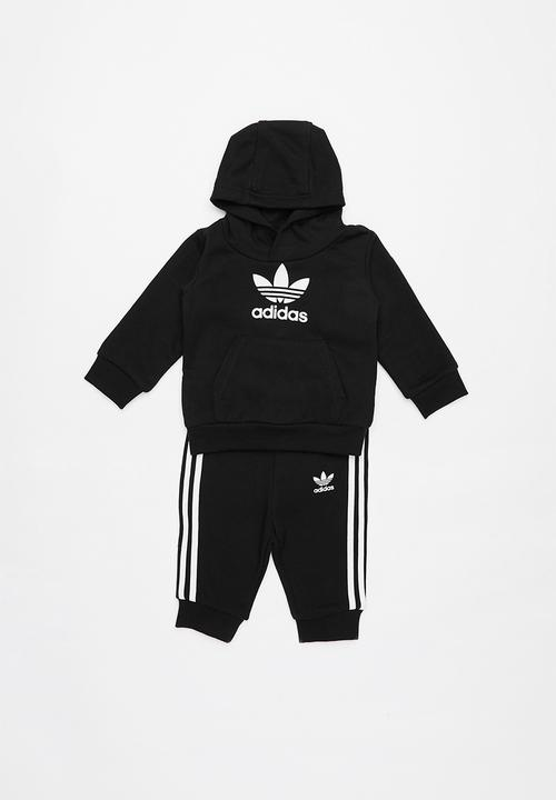 b4f47feb6 Trefoil tracksuit adidas - black & white adidas Jackets & Knitwear ...