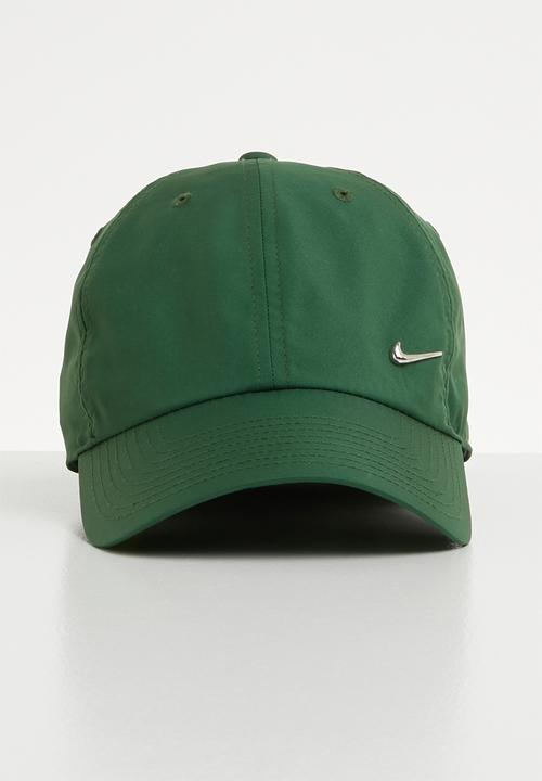b6b1c147f55d2 H86 Cap metal swoosh - green Nike Headwear