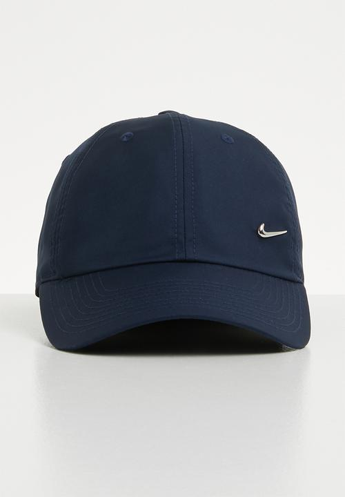 8a8e7a2d01eeb U NK H86 Cap metal swoosh - obsidian metallic Nike Headwear ...