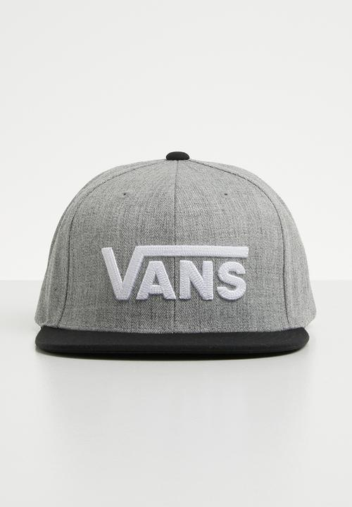 538a51c2c1e42 Drop V II snapback - heather grey-black Vans Headwear