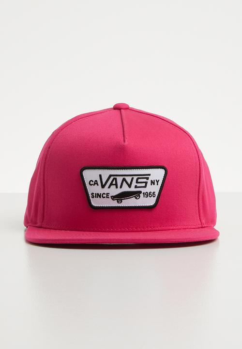 1e23a7d87df Full patch snapback - jazzy Vans Headwear