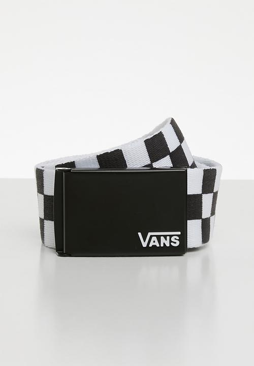88064b87445c8e Deppster II web belt - VA31J1Y28 - BLACK-WHITE Vans Belts ...