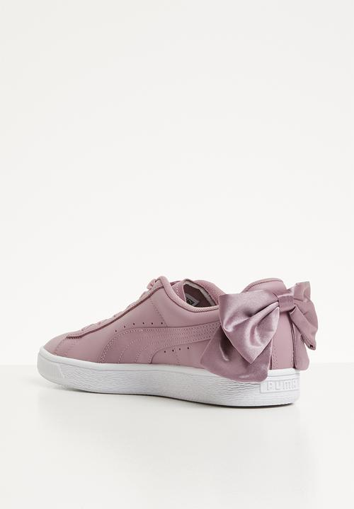 puma basket bow toddler