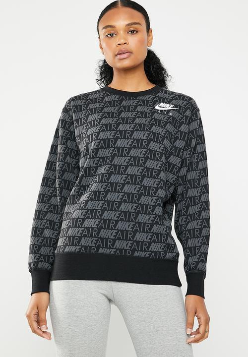 100213900b427e Nike Air sweatshirt - black Nike Hoodies