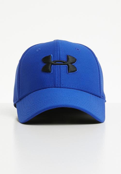 6083466712d Men s blitzing 3.0 cap - royal black Under Armour Headwear ...