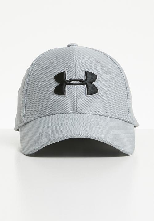 65ccd39fb27 Men s heathered blitzing 3.0 cap - steel black Under Armour Headwear ...