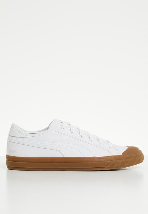 Puma White-Gum-Gum PUMA Sneakers