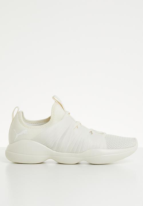 63f38c49528 Flourish wn's - 19233704 - whisper white - puma white PUMA Trainers ...