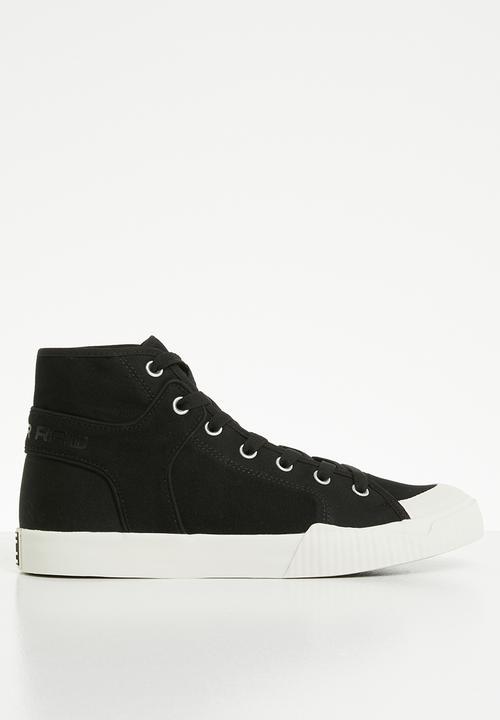7d909fb6309 Rackam Tendric Mid - D12504-9551-990 - black G-Star RAW Sneakers ...