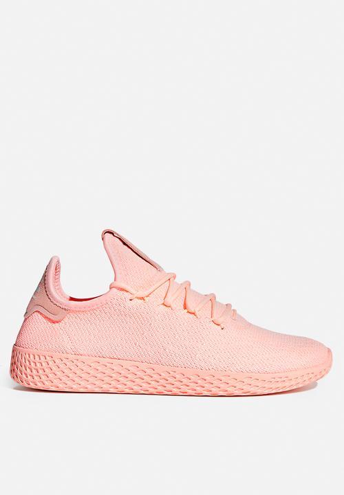9753682a1 adidas Originals - Pharrell Williams Tennis Hu - clear orange cloud white core  black