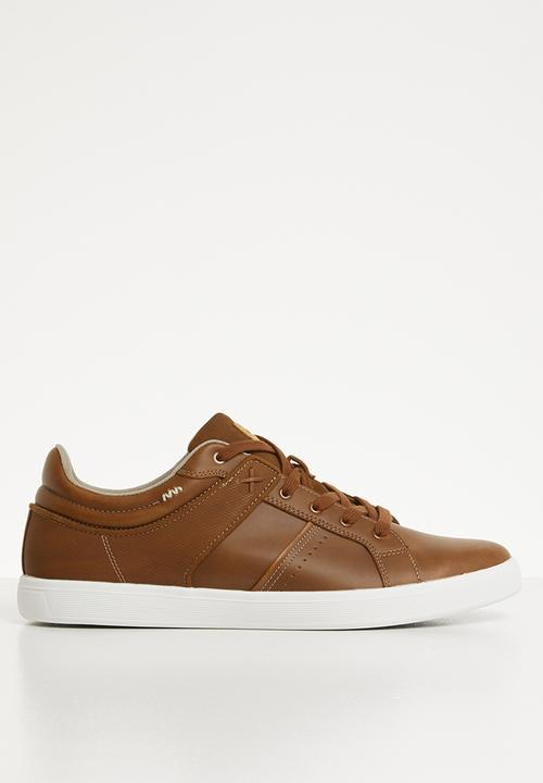 5bdfbc69c838bc Agrosien lace-up street sneaker - cognac ALDO Slip-ons and Loafers ...