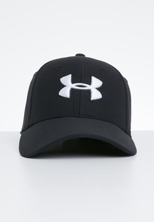 8fb20f22e8aaed Men's blitzing 3.0 cap - black & white Under Armour Headwear ...