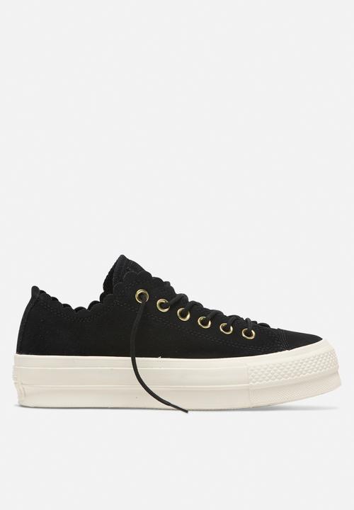 size 40 a58eb 2719e Converse - Chuck Taylor All Star Lift - OX - black   gold   egret