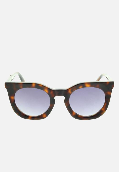 e4cb1e152a1a Dark havana frame with gradient mirror violet lenses Diesel Eyewear ...