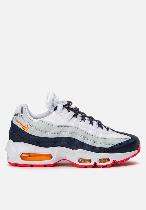 hot sale online 93309 4235e Nike - Nike w Air Max 95 - midnight navy   laser orange