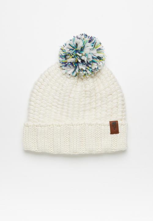 2cea9035decff Cozy chunky beanie - vintage white The North Face Headwear ...