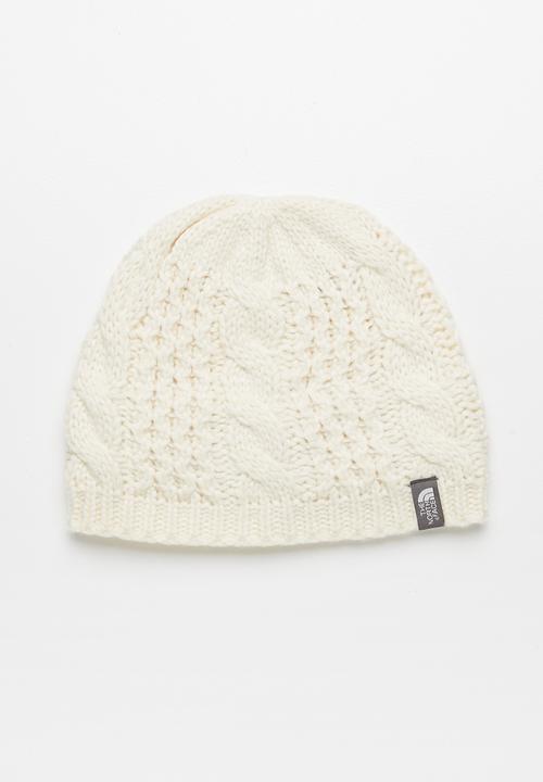 4f8a88ab82e Cable minna beanie - vintage white The North Face Headwear ...