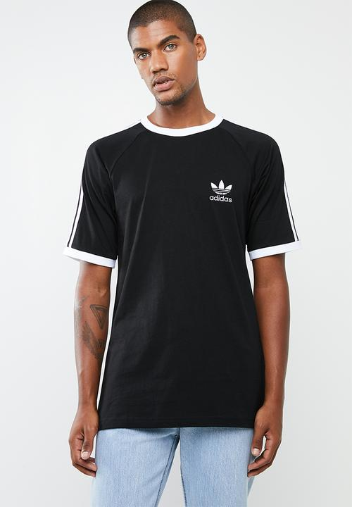 8a4a520b1059 Mens oversized cali tee - black & white adidas Originals T-Shirts ...
