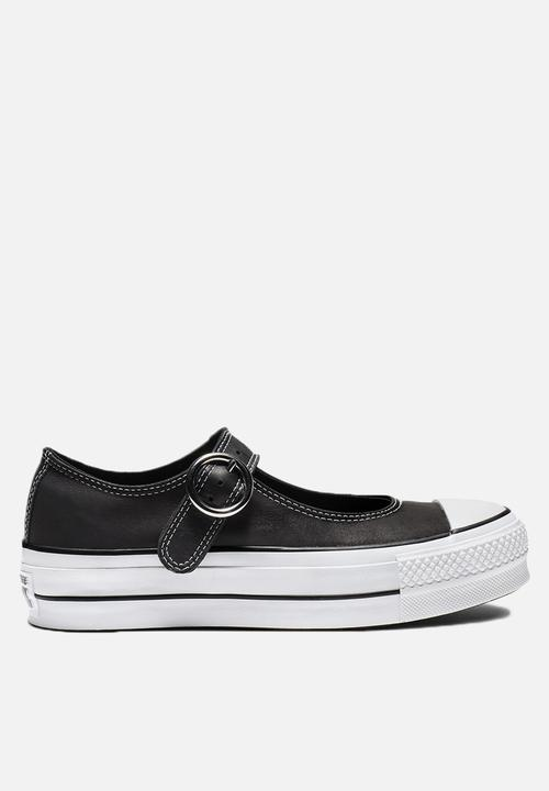 brand new ac8b0 3c6b6 Converse - Chuck Taylor All Star Mary Jane - Ox - black   black   white