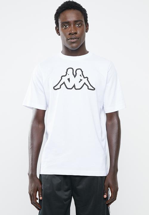 Capilares pereza ignorancia  Logo cromen short sleeve tee - white/black KAPPA T-Shirts | Superbalist.com