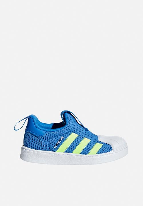 Superstar 360 i - true blue/hi-res yellow/