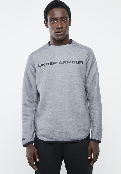 Empleado lanzador Teoría establecida  Move light graphic crew sweater - grey Under Armour Hoodies, Sweats &  Jackets | Superbalist.com