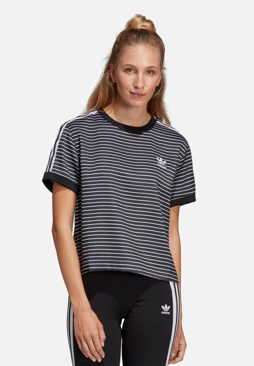 f227d8acf8 3 stripes tee - black/white adidas Originals T-Shirts | Superbalist.com