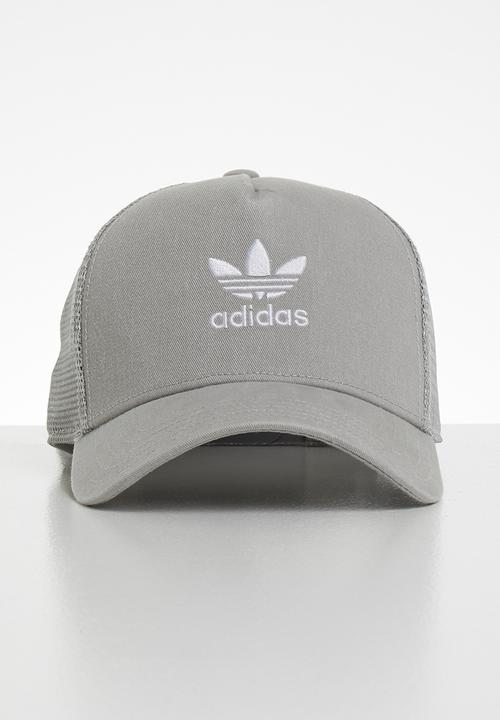086709cbd3 Trefoil trucker - mgsogr white adidas Originals Headwear ...