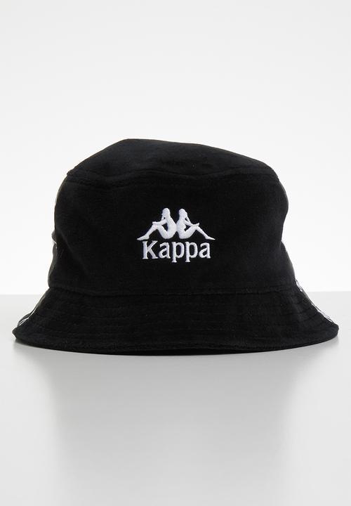 Ale vitamina gruppo musicale  Velour sporty hat - black KAPPA Headwear | Superbalist.com