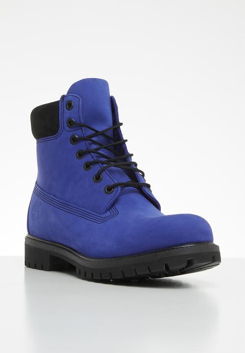 separation shoes d38b2 a3304 Timberland - Timberland 6 premium boot - blue