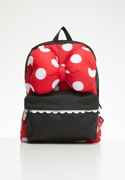 f6d51a655c644 Minnie realm backpack - red black Vans Accessories