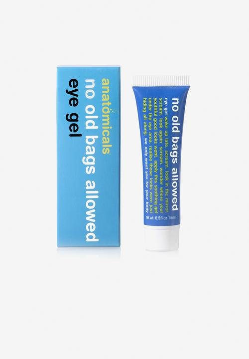 No Old Bags Allowed   Eye Gel by Anatomicals
