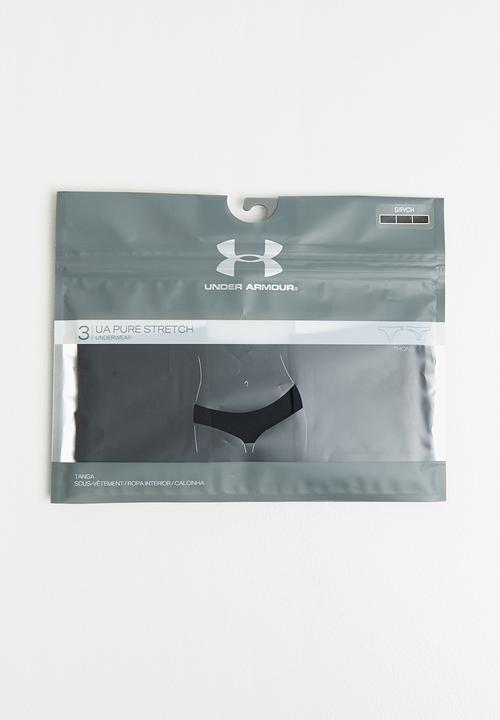 a181f92a10d7 PS Thong 3pack - black Under Armour Panties | Superbalist.com