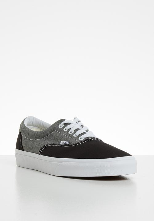 69836867d4c UA era - (chambray) canvas black/true white Vans Sneakers ...