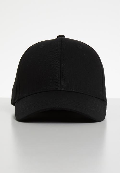 69be59c4d Basic logo baseball cap - black Jack & Jones Headwear | Superbalist.com
