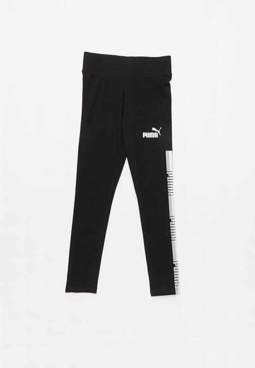 cfb307875cd09 Tape leggings - black PUMA Pants & Jeans   Superbalist.com