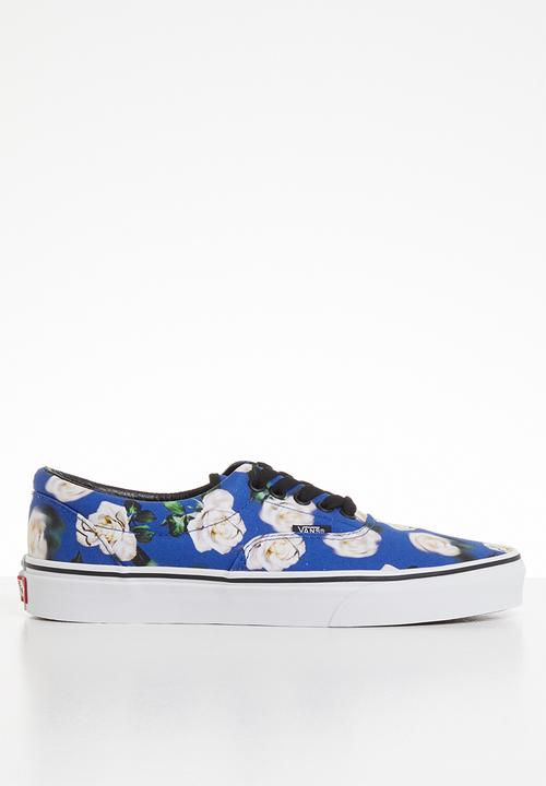 e1684b6bd Ua era - va38frvp9 - (romantic floral) lapis blue/true white Vans ...
