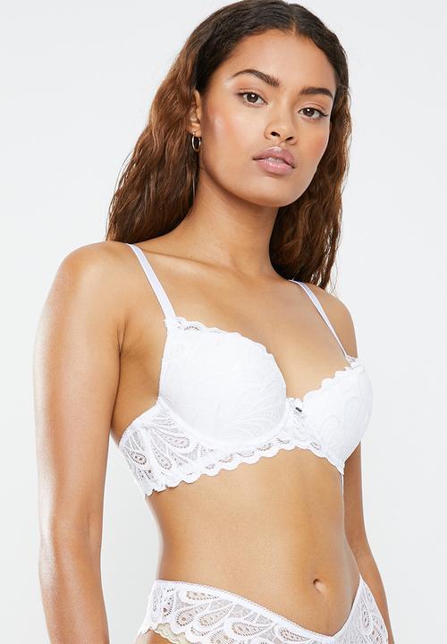 bf8fe703cbfd Allover lace push up bra - white Sissy Boy Bras | Superbalist.com