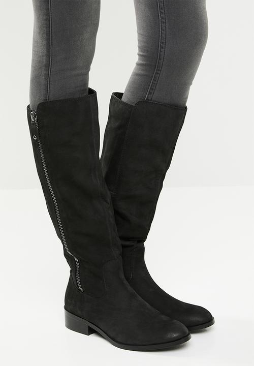 Gaenna leather zip embellished block