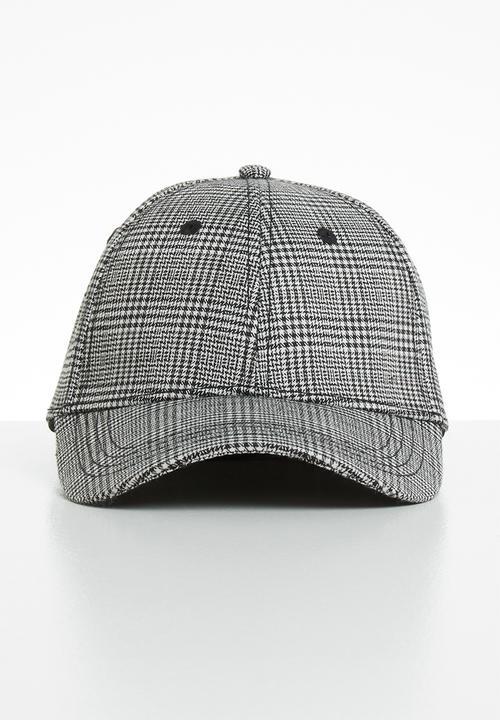 49dcec6b3 Pinstripe baseball cap - black Jack & Jones Headwear | Superbalist.com